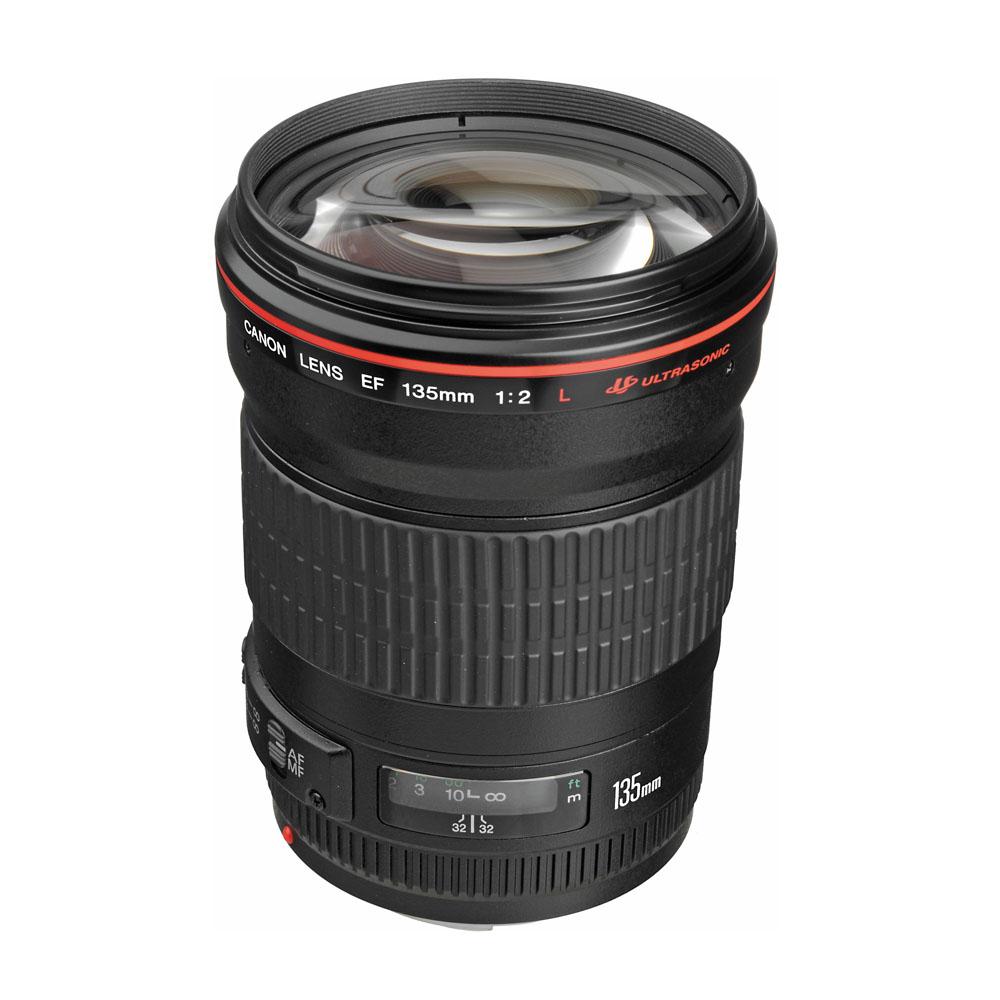 Lens Canon 135 mm F2 L