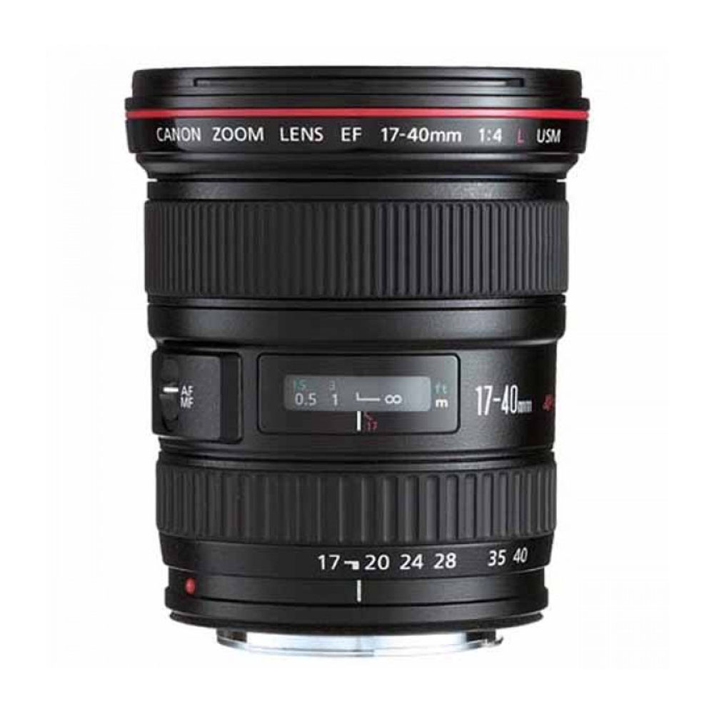 Lens Canon 17-40 mm F4