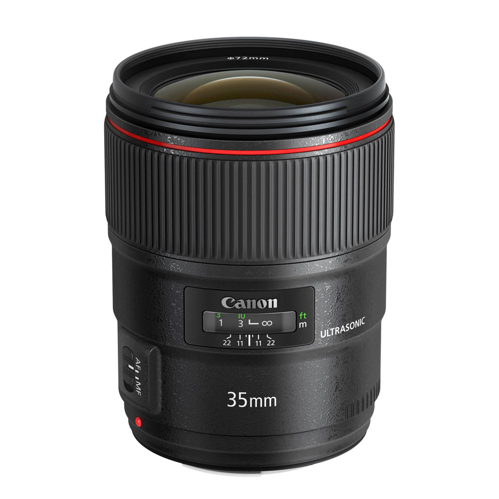 Lens Canon 35 mm F1.4 L Mark II