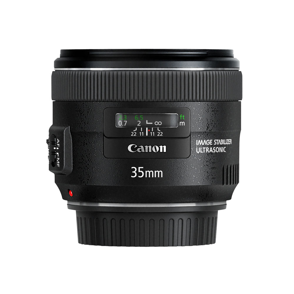 Lens Canon 35 mm F2 IS
