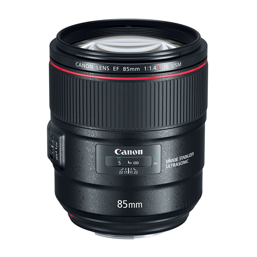 Lens Canon 85 mm F1.4 L IS