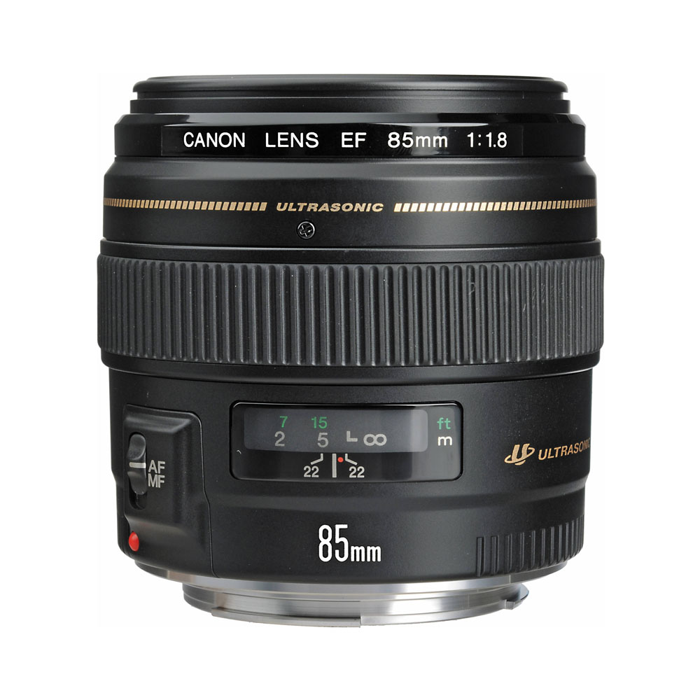 Lens Canon 85 mm F1.8